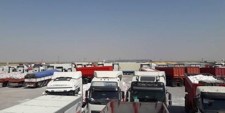 مرز مهران بسته شد/ معطلی هزار کامیون صادراتی در مرز