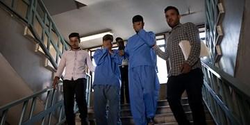 دستگیری عاملان تخریب  15 دستگاه خودرو