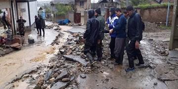 خسارت اولیه سیل در مازندران