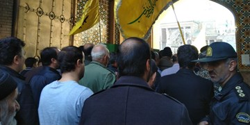 پیکر شهید مدافع حرم پس از ۳ سال در شهرری تشییع شد