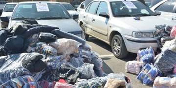 کشف البسه قاچاق در آذرشهر
