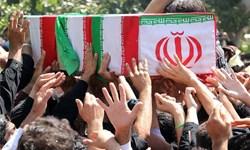 پیکر شهید «حسنیسعدی» پس از 37 سال در کرمان تشییع شد