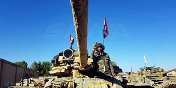 عکس  ارسال مجدد تجهیزات ارتش سوریه به مناطق مرزی با ترکیه