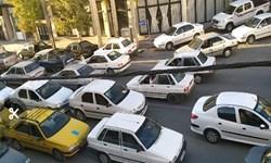 ترافیک پر حجم در معابر اطراف مصلی