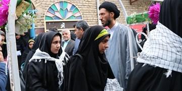 اعزام اولین کاروان دانشآموزان دختر استان یزد به اردوی راهیان نور
