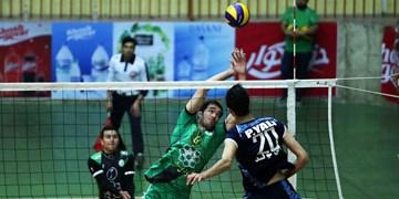 شکست سنگین کاله مازندران مقابل مدافع عنوان قهرمانی لیگ برتر