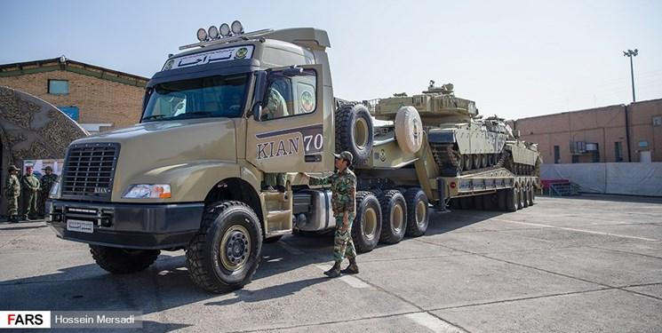 الحاق بیش از ۵۰۰ خودروی فوق سنگین به نیروی زمینی ارتش