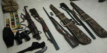 کشف 9 قبضه سلاح شکاری غیر مجاز در لردگان
