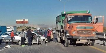 تصادف زنجیرهای30 خودرو در آزاد راه قزوین – زنجان