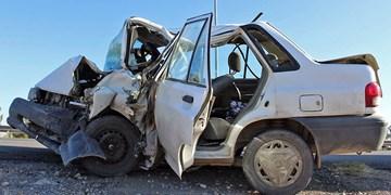 یک کشته و ۳ مجروح در تصادف ۲ پراید در جاده اردبیل - سرچم