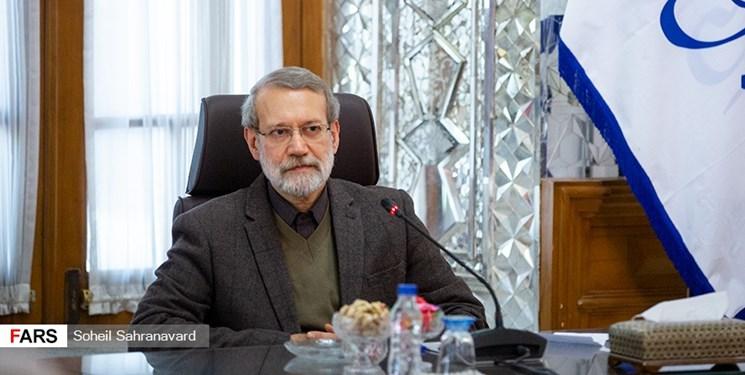 نامه لاریجانی  به روسای پارلمان های کشورهای اسلامی برای مقابله با طرح قلابی معامله قرن