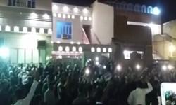 طرفداران شاعر اهوازی برای عرض تسلیت تجمع کردند