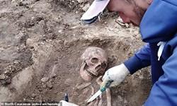 کشف اسکلت 2هزار ساله یک زن+تصاویر
