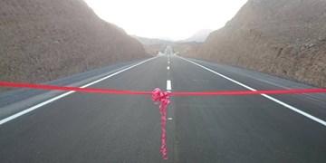 افتتاح کنار گذر زارچ - اشکذر با حضور وزیر راه و شهرسازی در یزد