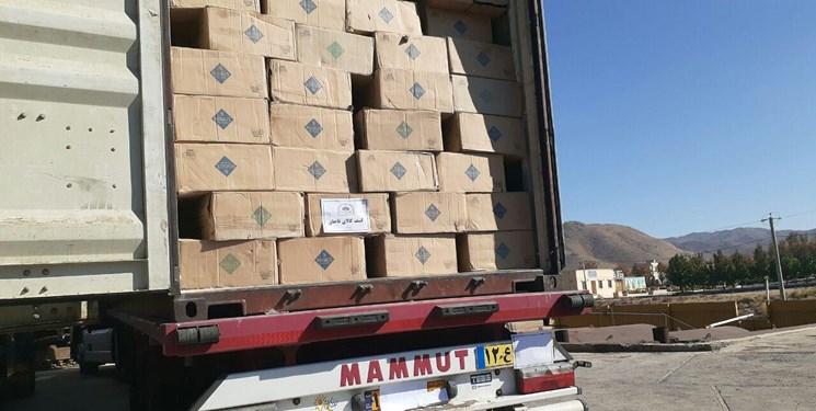 بیش از پنج میلیارد ریال کالای قاچاق در «جم» توقیف شد