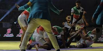 کبدی جوانان جهان| تصاویر دیدار ایران و مالزی