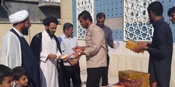 رقابت طلاب در ورزشهای بومی محلی پارسیان