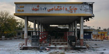 خسارات اغتشاشات روز گذشته به اموال عمومی در غرب تهران