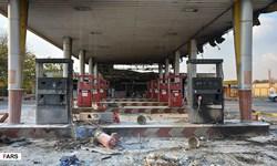فیلم|جایگاه سیار شهر صیدون در آتش سوخت