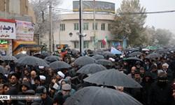 راهپیمایی مردم شهر زنجان در حمایت از مواضع رهبر انقلاب برگزار شد