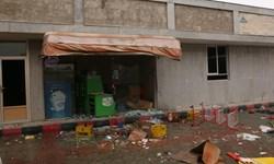 تصاویر| خسارت اشرار به اموال عمومی در یزدانشهر نجفآباد