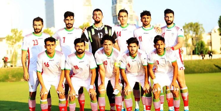 اعلام شماره پیراهن  بازیکنان تیم ملی امید در مسابقات قهرمانی آسیا
