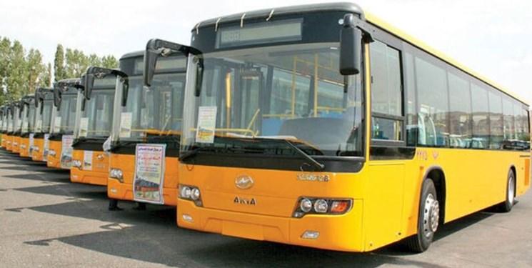 ورود اتوبوس های جدید به ناوگان اتوبوسرانی تهران