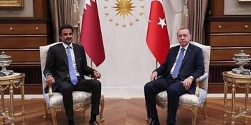 گفتوگوی تلفنی رئیسجمهور ترکیه و امیر قطر