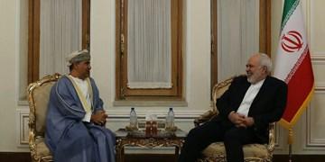 سفیر عمان در تهران با ظریف خداحافظی کرد
