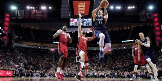 لیگ بسکتبال NBA| تریپل دبل دونچیچ در روز برد دالاس