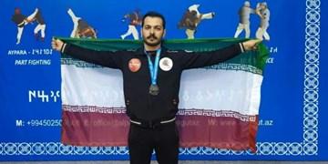 نایب قهرمانی ورزشکار اردبیلی در مسابقات جهانی کونگ فو