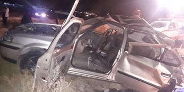حادثه خونین  رانندگی در جاده میانه - زنجان با 3 کشته