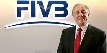 رئیس فدراسیون جهانی والیبال: تمرکز FIVB بر روی تماشاگران و ورزشکاران است