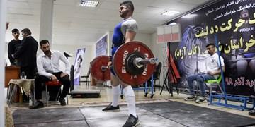 ورزشکار تویسرکانی قهرمان مسابقات ددلیفت کلاسیک کشور شد