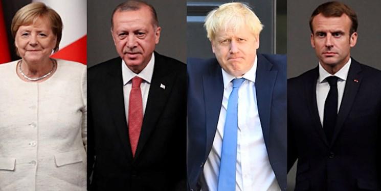 نشست چهارجانبه ترکیه و کشورهای اروپایی درباره سوریه