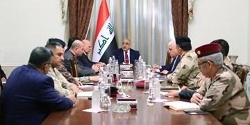 نشست شورای امنیت ملی عراق برای بررسی استعفای «عبدالمهدی»