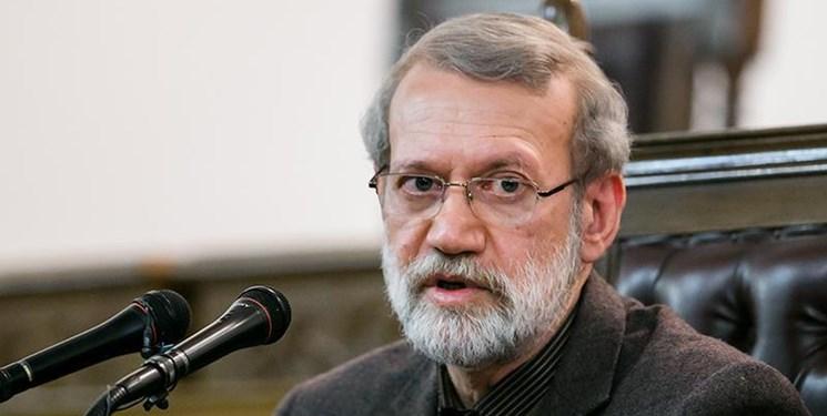 لاریجانی: سپاه همه امکانات خود را برای کمک به مردم بسیج کرده است