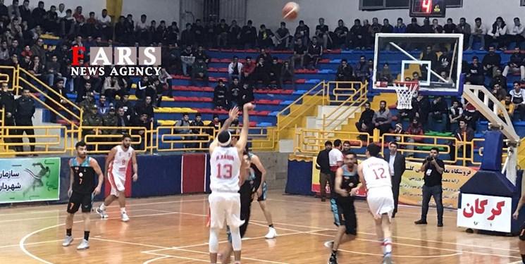 لیگبرتر بسکتبال|  تداوم صدرنشینی شهرداری گرگان با برتری مقابل مس