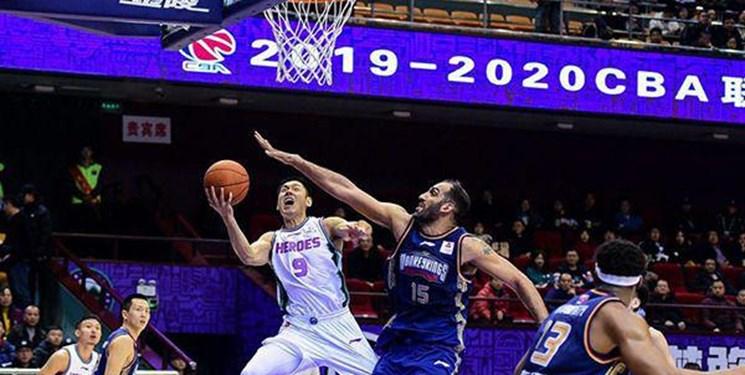 لیگ بسکتبال چین| شکست نانجینگ در حضور 21 دقیقهای حامد حدادی