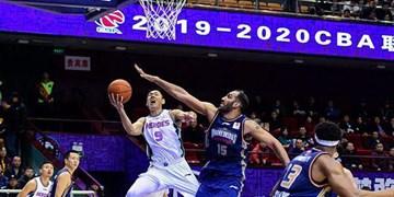 لیگ بسکتبال چین| شکست نانجینگ در حضور حدادی
