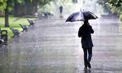 وقوع بارشهای رگباری و پراکنده در فارس