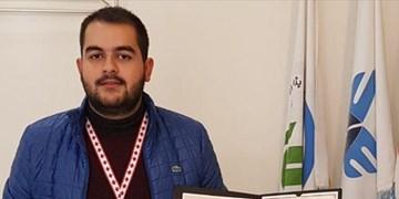 کسب 2 مدال توسط دانشجوی تبریزی در مسابقات اختراعات کانادا و کرواسی