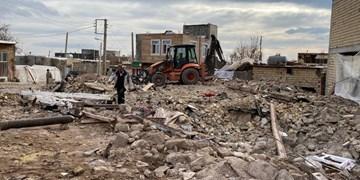 بازسازی واقعی مناطق زلزلهزده میانه در حد ۵۰ درصد است/ کمبود سیمان در مناطق زلزلهزده