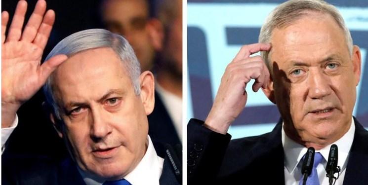 اختلاف مجدد میان نتانیاهو و گانتز برای تشکیل کابینه فراگیر