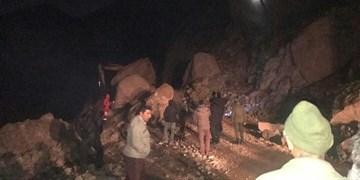 باران دو جاده از خوزستان را مسدود کرد
