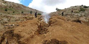 کشف بیش از ۲۱۴ تن سنگ معدن قاچاق در اسفراین