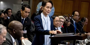 سوچی اتهام نسلکشی مسلمانان روهینگیا را رد کرد