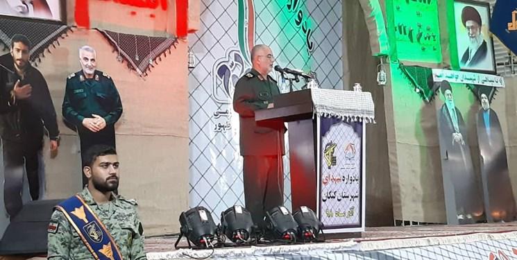 فرمانده سپاه بوشهر: شهادت سردار سلیمانی باعث تقویت محور مقاومت شد