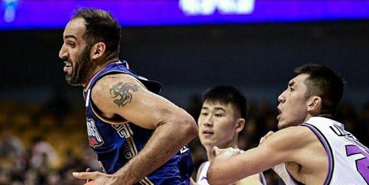 لیگ بسکتبال چین| دومین شکست نانجینگ با حدادی در پلیآف