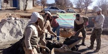 پروژههای محرومیتزدایی سپاه در کمیجان افتتاح شد